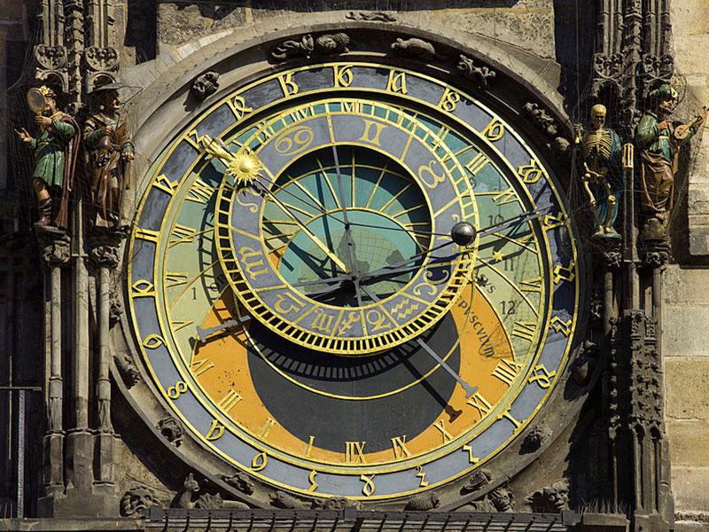 プラハ天文時計2