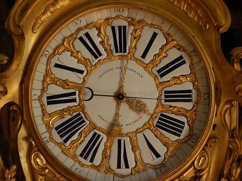 ヴェルサイユ・マンサール天文時計