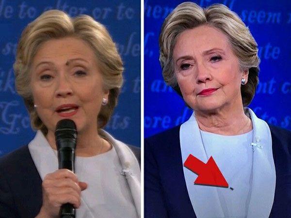 大統領候補に触れたハエ2