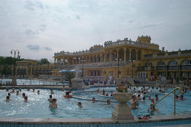 セーチェーニ温泉、ハンガリー