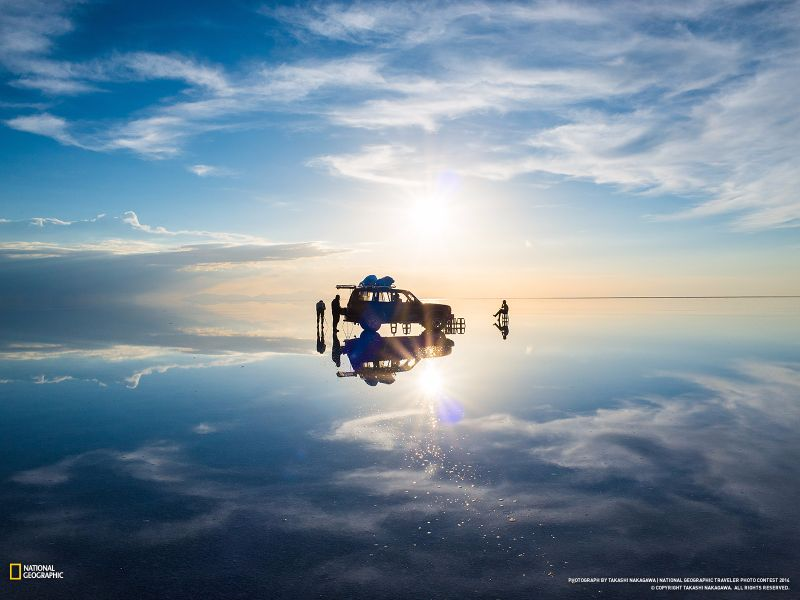 ウユニ塩湖、ボリビア2