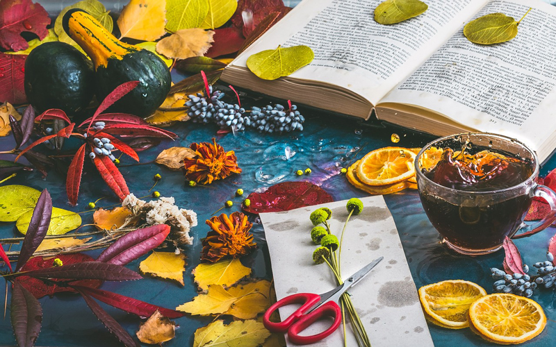 秋は第2の春。全ての木の葉が花になる。
