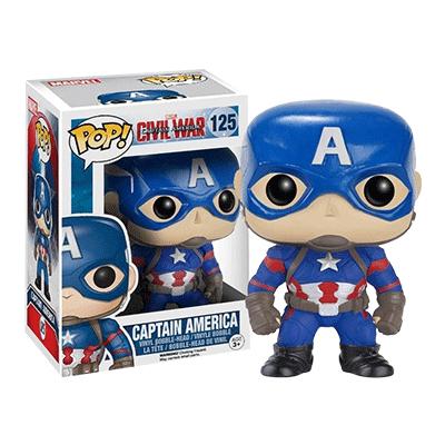 Funko ファンコ pop! キャプテン・アメリカ