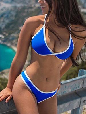 ブルー 水着