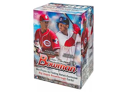 Bowman トレーディングカード Box パック ジャンボ ホビー