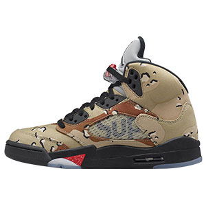 AIR JORDAN 5 RETRO × SUPREME